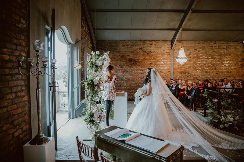 Marriage Officer Lara - Elle & Calvin Wedding - Weddings Cape Town